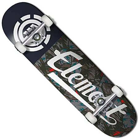 42403cce411 Element Seasonal Script Complete Skateboard in stock at SPoT Skate Shop