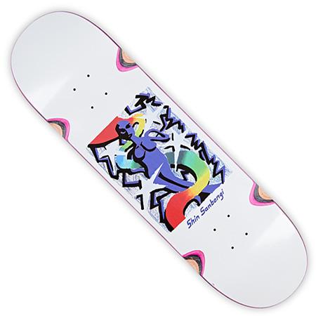 "8.25/"" INCH NEW ART QUEEN SKATEBOARD DECK POLAR SKATE CO SHIN SANBONGI"
