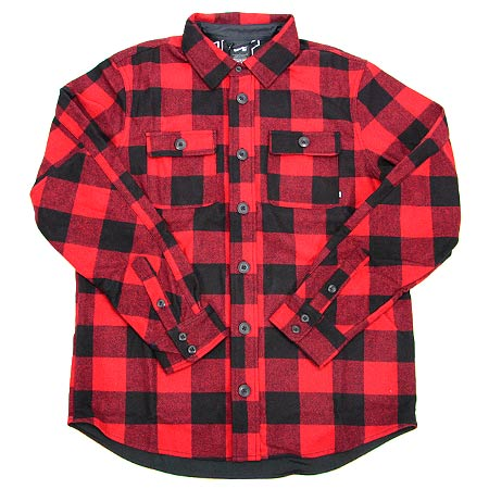 nike holgate wool long sleeve flannel shirt in stock at