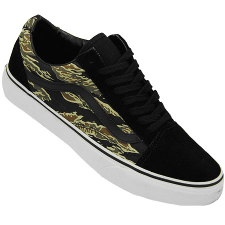 9a988bc95b OUT OF STOCK Color  Black Suede  Tiger Camo