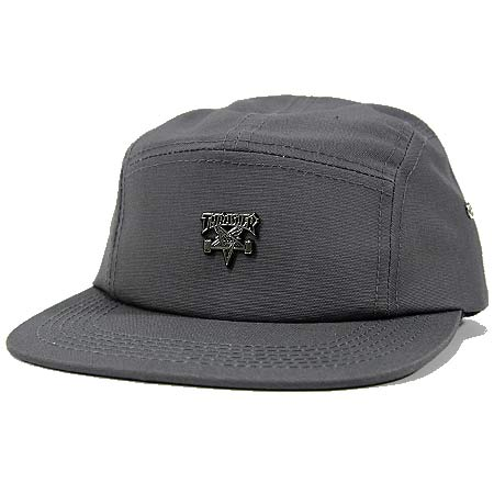 6749ea56a1d Thrasher Magazine Skate Goat Pin 5-Panel Strap-Back Hat in stock at ...