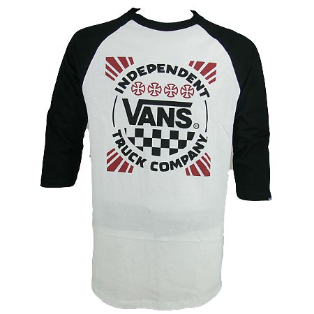 182653f774 Vans Independent Trucks x Vans Boys 3 4 Sleeve Raglan T Shirt in ...