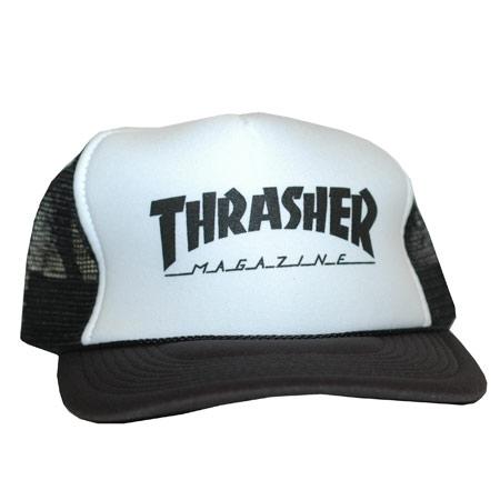 27547c7393b Thrasher Magazine Logo Mesh Hat in stock at SPoT Skate Shop