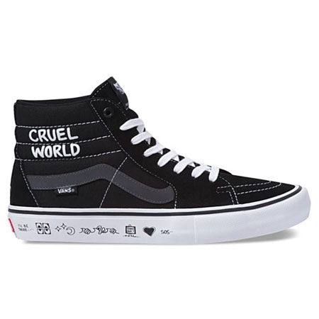 68f50b6cb9 Vans Vans x Cult Sk8-Hi Pro Cruel World Send Rescue Shoes in stock ...