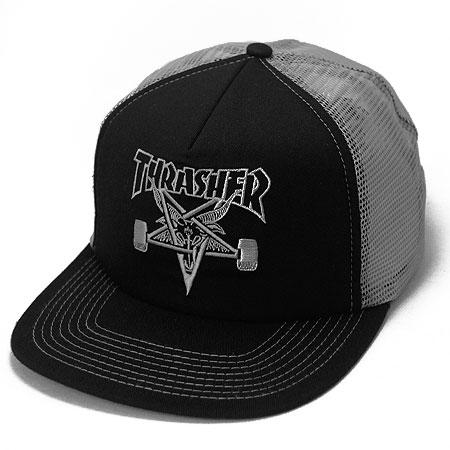 afe7e2677de Thrasher Magazine Skate Goat Embroidered Mesh Hat in stock at SPoT ...