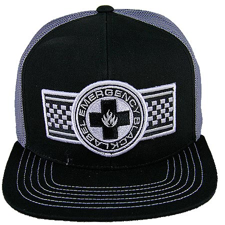 fea93df2781 Black Label Emergency Patch Trucker Adjustbale Hat in stock at SPoT ...