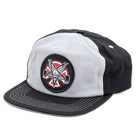 Independent Independent X Thrasher Pentagram Cross Snapback Hat in ... 406f119e4897