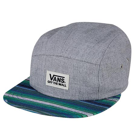 fd737fb8520 Vans Jasper Camper 5-Panel Strap-Back hat in stock at SPoT Skate Shop