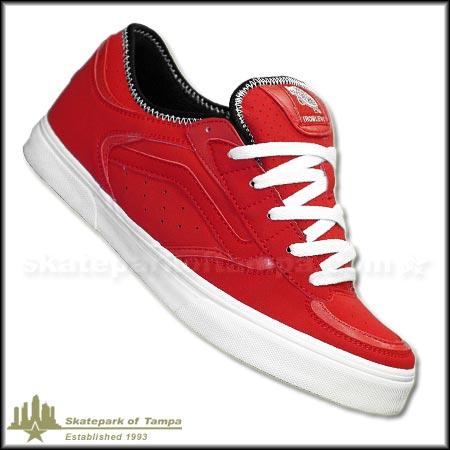 vans rowley red