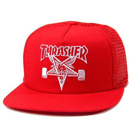 Thrasher Magazine Skate Goat Embroidered Mesh ... 6c32beedd50