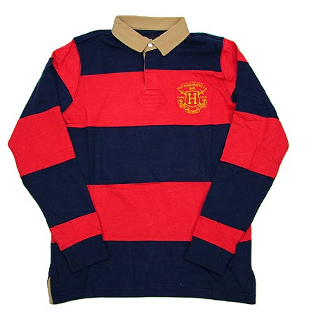 Huf Scholar Rugby Long Sleeve Polo Shirt In Stock At Spot