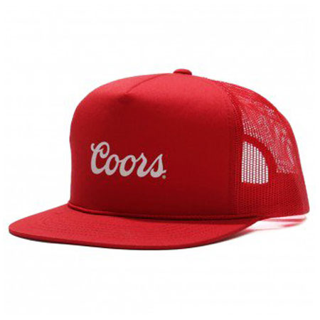 Brixton Brixton X Coors Mesh Snap-Back Hat in stock at SPoT Skate Shop cd0cc903186