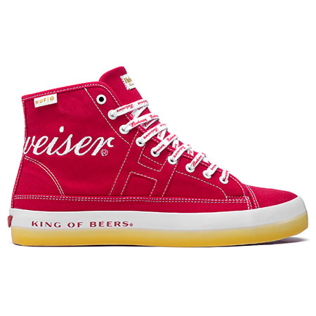 c4733f05ef2 HUF HUF x Budweiser Hupper 2 Hi Shoes in stock at SPoT Skate Shop
