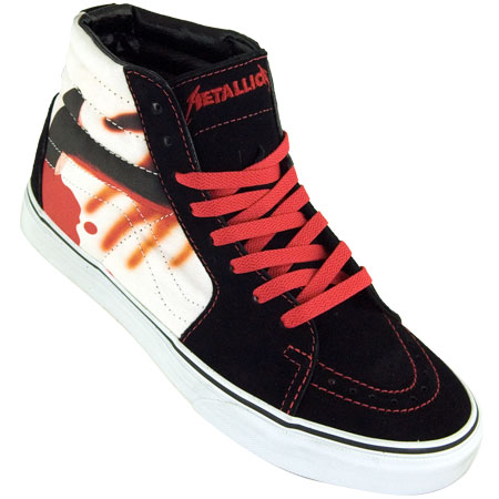 metallica vans shoes
