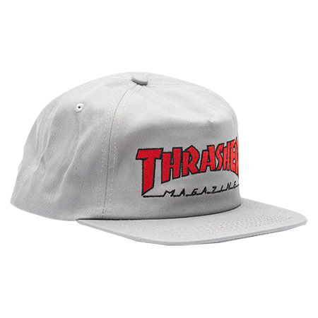 85377aab4 Thrasher Magazine Outlined Snapback Hat
