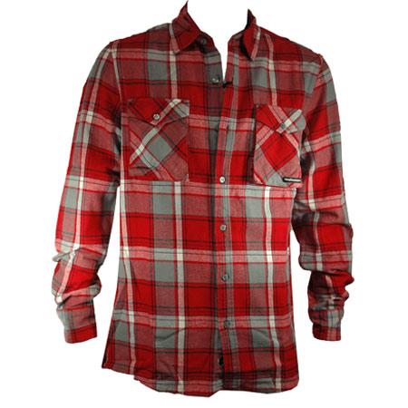The hundreds big blue button up flannel shirt in stock at for Button up flannel shirts