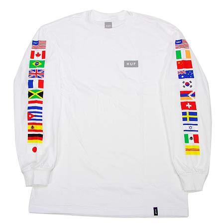 07a40df822b HUF Flag Long Sleeve T Shirt in stock at SPoT Skate Shop