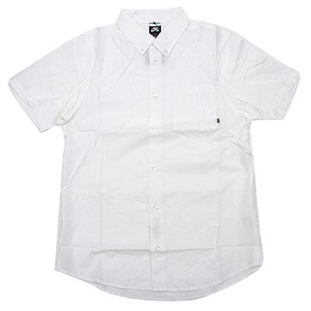 Nike Sb Holgate Light Weight Short Sleeve Button Up Shirt