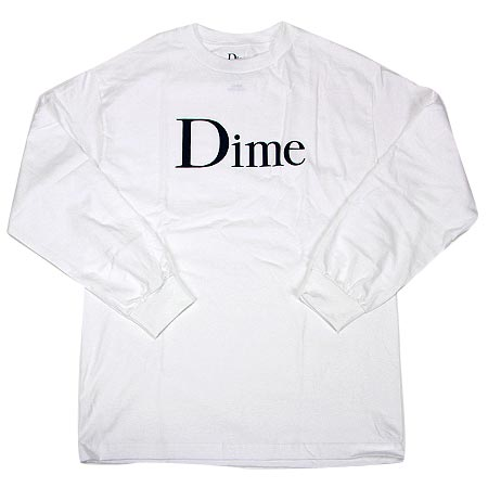 478fc2a75 Dime Classic Logo Long Sleeve T Shirt in stock at SPoT Skate Shop