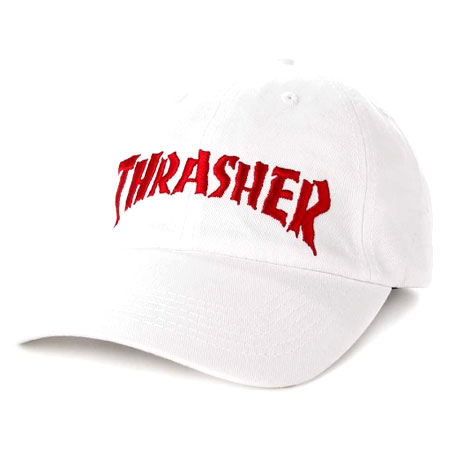 6715bbe0e58 Thrasher Magazine Neckface Invert Old Timer Strap Back Hat in stock ...
