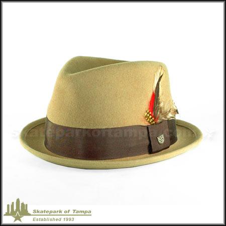 6ac4fa7a5df21 Brixton Gain Fedora Hat in stock at SPoT Skate Shop