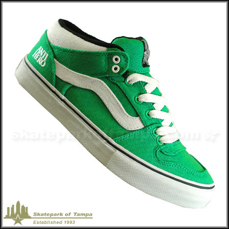 eb48a381b3843a OUT OF STOCK Color  Anti-Hero  Green Canvas  White