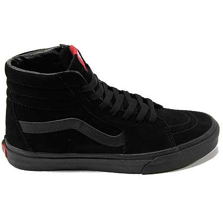 all black sk8 hi vans