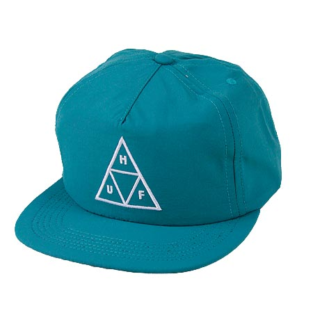 HUF Triple Triangle Nylon Snap-Back Hat in stock at SPoT Skate Shop 2d1ccf99f5c8