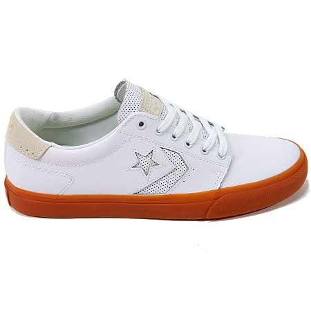 converse leather gum sole