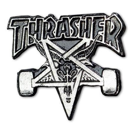 1216486ce47b Thrasher Magazine Skategoat Lapel Pin in stock at SPoT Skate Shop