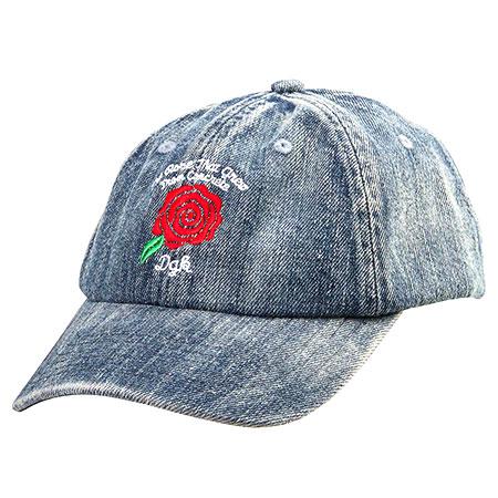 DGK Bloom Denim Strapback Hat in stock at SPoT Skate Shop dda6705e806