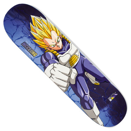 Primitive Skateboarding Dragon Ball Z X Primitive Trent Mcclung Super Saiyan Vegeta Deck