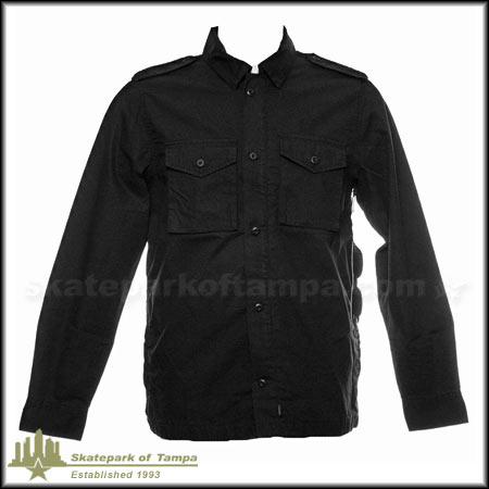 Vans J Lay Phillmore Zip Up Button Down Jacket In Stock At Spot