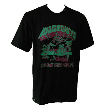 Lrg Nice Guys Finish Last T Shirt In Stock At Spot Skate Shop
