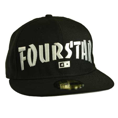7d089873ac0 Fourstar Thrasher New Era Fitted Hat in stock at SPoT Skate Shop