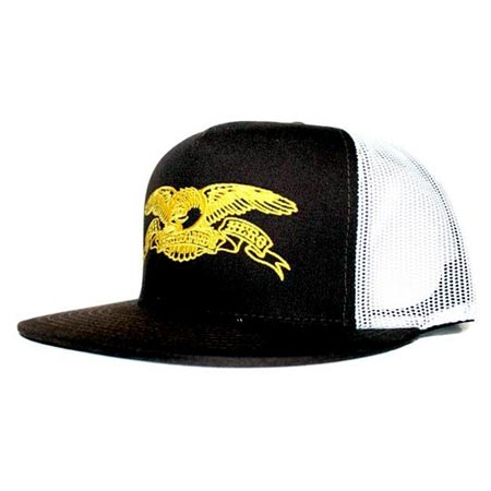 Anti-Hero Force Adjustable Trucker Hat in stock at SPoT Skate Shop 86093296dca