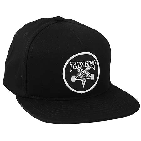 22595e9febf Thrasher Magazine Skate Goat Snap Back Hat in stock at SPoT Skate Shop