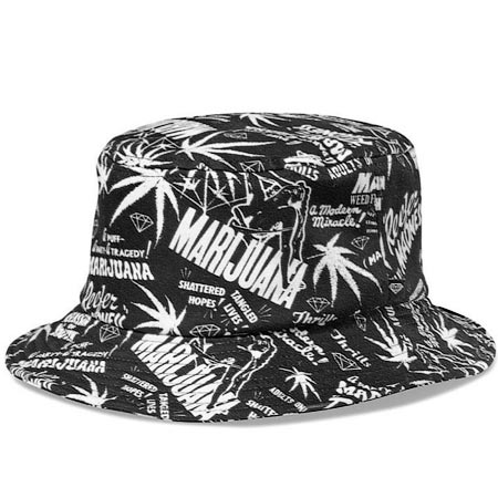 Diamond Reefer Madness Bucket Hat in stock at SPoT Skate Shop 99c5e53c781
