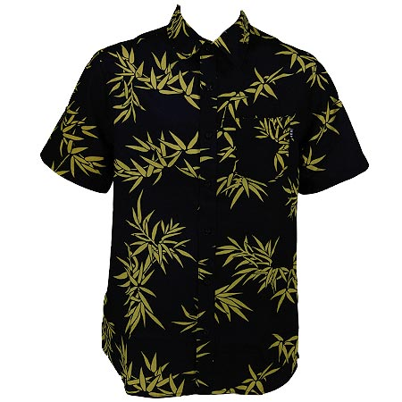 Huf bamboo short sleeve button up shirt in stock at spot for Bamboo button down shirts
