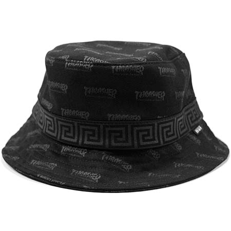28be96aa5b7 HUF Thrasher x HUF Asia Tour Bucket Hat in stock at SPoT Skate Shop
