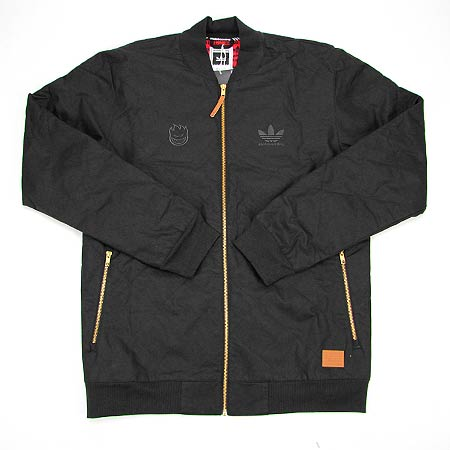 7fb43ffe29ce adidas Spitfire x Adidas Silas Baxter-Neal Quilted Zip-Up Coaches Jacket