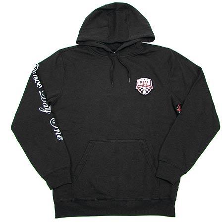 Vans Vans x Real Skateboards Pullover Hooded Sweatshirt, Black
