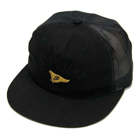 Primitive Skateboarding Pennant Arch Trucker Snap-Back Hat in stock ... 24ea9a92e30