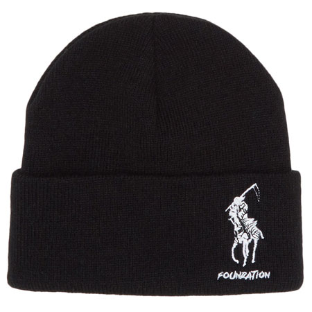 Foundation Polo Reaper Beanie in stock at SPoT Skate Shop 49e7931a02f