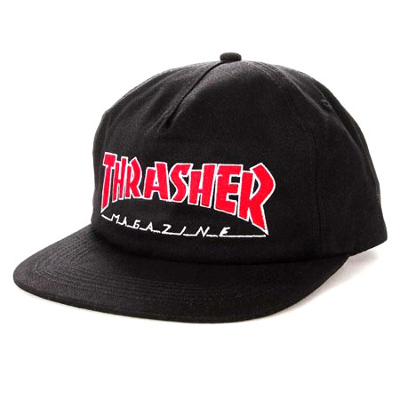 dbdbd0b5ea6b87 Thrasher Magazine Outlined Snapback Hat in stock at SPoT Skate Shop