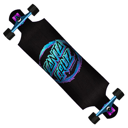 santa cruz throwdown dot cruiser complete longboard in stock at spotsanta cruz throwdown dot cruiser complete longboard