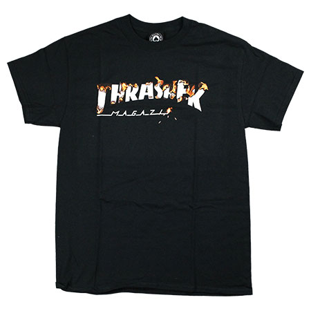 9e55677c8244 Thrasher Magazine Embroidered Outlined Long Sleeve T Shirt in stock ...