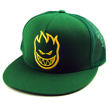 Spitfire Firehead Adjustable Trucker Hat in stock at SPoT Skate Shop 568fa12144d2