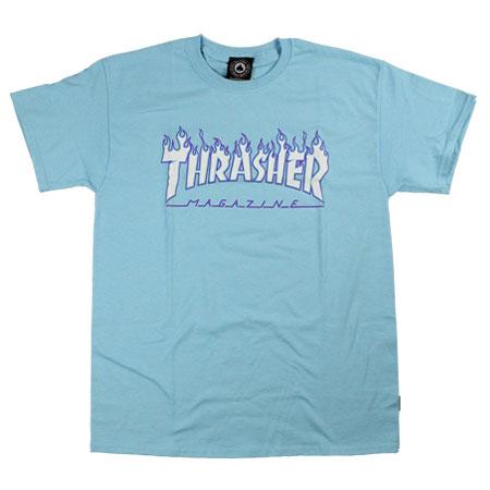 212bb73cc0c7 Thrasher Magazine Flame Logo T Shirt in stock at SPoT Skate Shop