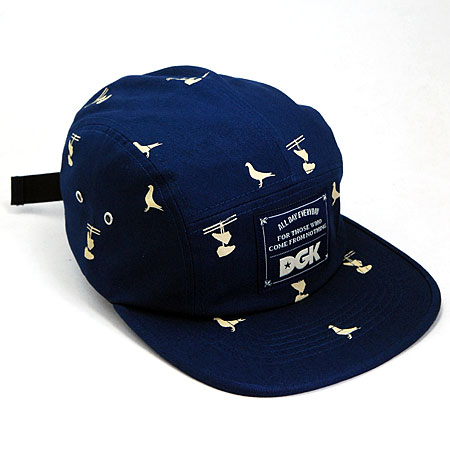 24b01150f3e49 DGK Iconic 5-Panel Hat in stock at SPoT Skate Shop